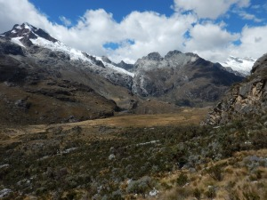 A hiking photo from Dom's South American adventure!